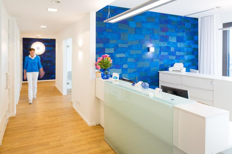 Frauenarztpraxis Dr. Gärtner - Praxisräume - Foto Rehbinder